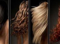 4 типа волос (нормальный, жирный, сухой, комбинированный)