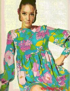 одежда в стиле 60-х на фото