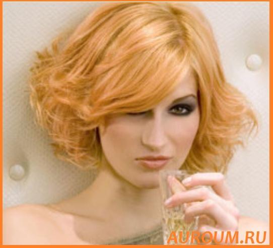 стрижки вьющиеся волосы средней длины
