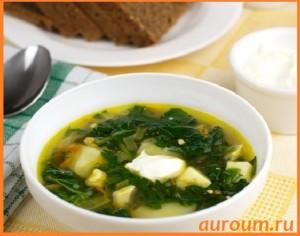 суп из крапивы с яйцом