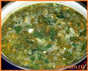 рецепт супа из крапивы