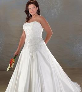 Какой фасон свадебного платья подходит полным