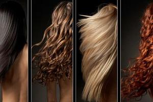 Смешанный тип волос