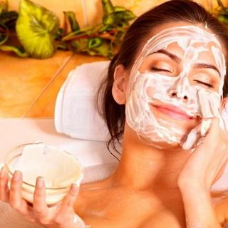 маска в бане для лица и тела